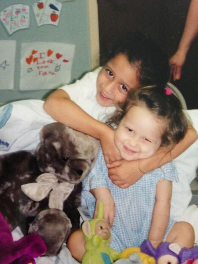 13 years ago today Taja was diagnosed with cancer, I am so blessed to have her.. My inspiration, love you Taja