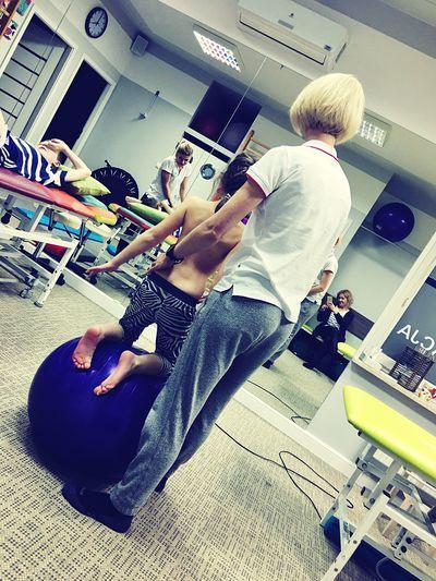 Rehabilitation Kids Girl Gym Sport Scoliosis