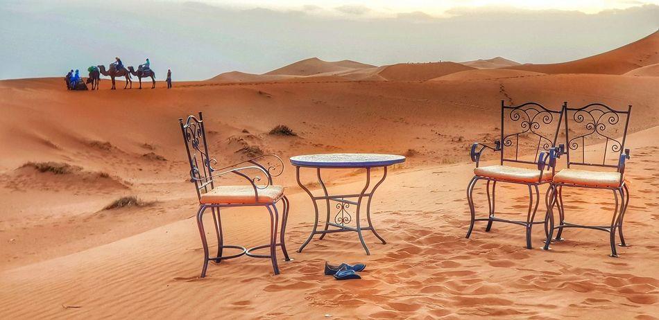 Maroccostyle Marocco Landscape Sand Dune Desert Arid Climate Sand Adventure Heat - Temperature Sky Landscape