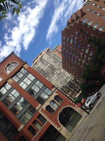 Building Buildings & Sky Buildings Chicago City City Life Peaceful View Sky Rual Brick Windows Street Street View Street Photography