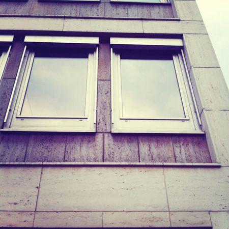 City Architecture Reflection Ventana