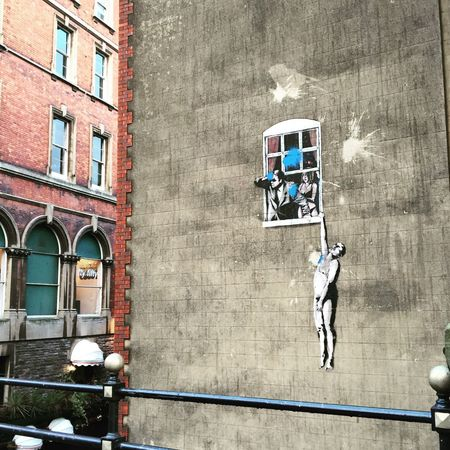 Banksy Banksyart BanksyBristol Bristol, England Streetart Street Photography Street Art/Graffiti