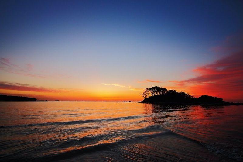 명선도 여명 // MYEONG_SEON Island Sunrise Enjoying Life Walking Around Perfekt Day Holiday