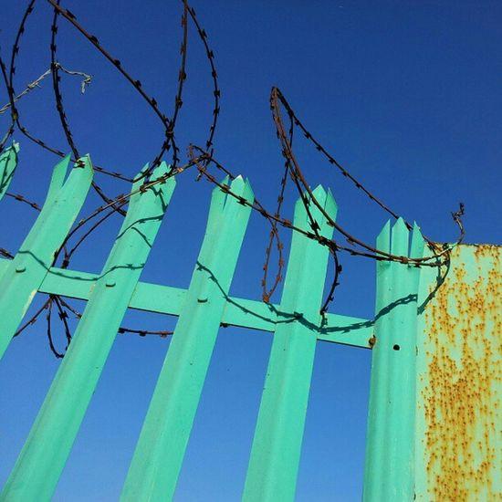 Manchester Sunny Gorton Fence rust
