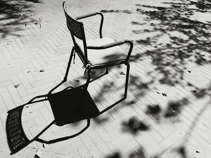Without you Shadow Absence Outdoors Sunlight Blackandwhite No People Black And White Nostalgia Nostalgy