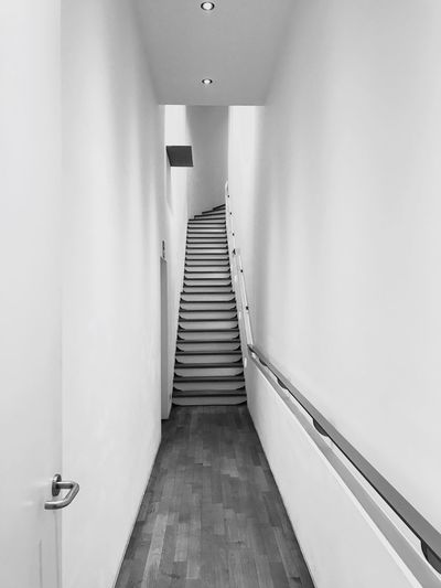 Stairway museum BW EyeEmNewHere EyeEm Selects IPhoneography Iphonephotography Iphn Photography Architecture No People Monochrome Photography Bw Photography stairs hidden space