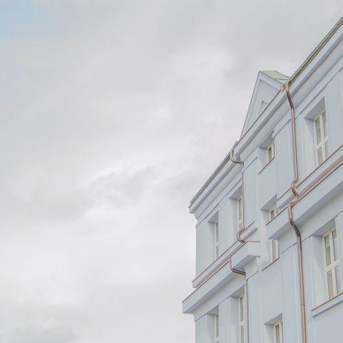 Hi-key Highkey Muted Colors Buildings & Sky