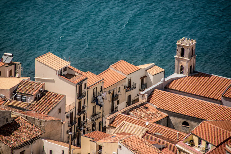 Architecture Building Exterior Cefalu  No People TOWNSCAPE Water