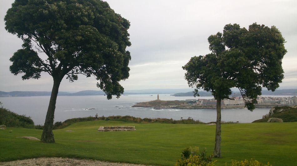 Mirador Monte San Pedro Torre De Hércules A Coruña No Edit/no Filter