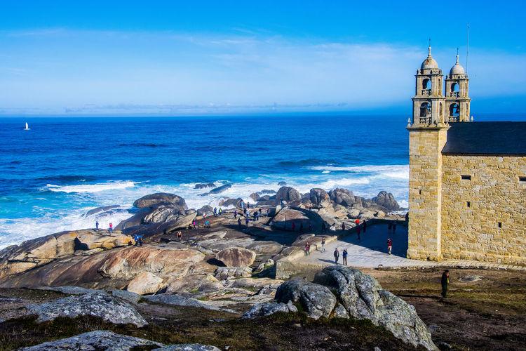 Muxia, Spain CaminodeSantiago Coruña Galicia Spain Muxía Nature Panorama Panoramic SPAIN Camino De Santiago Coruña Outdoors Overview