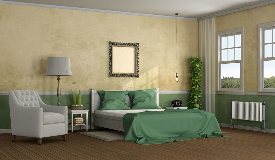 Interior Of Bedroom At Home