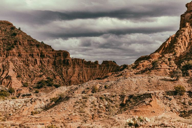 6:00 on the clock. Rock Formation Nature Beauty In Nature Scenics Sky Rock - Object Geology Tranquility Cloud - Sky No People Landscape Day Outdoors Tranquil Scene Mountain Physical Geography Travel Destinations Arid Climate
