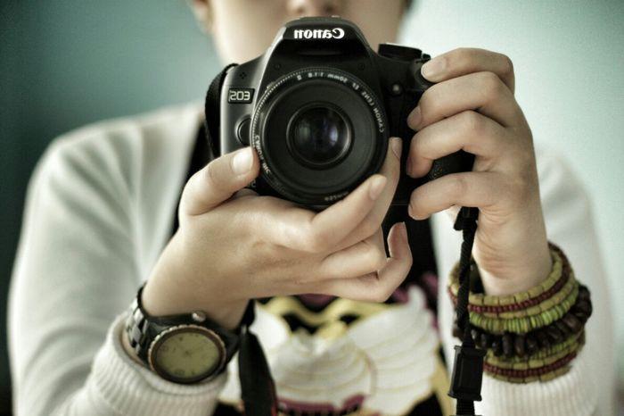 Canon Camera 50mm 1.8 Photo Monochrome