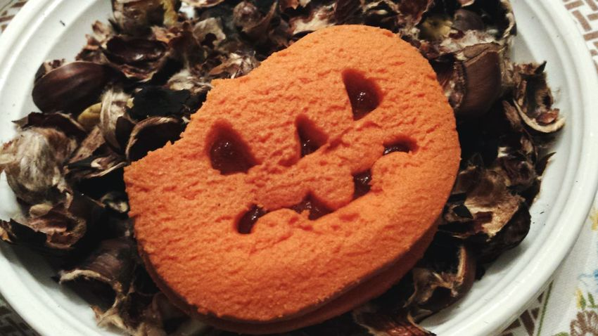 Happy Halloween Zucca Paura Castagne October