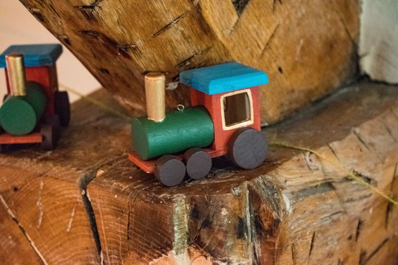 Toy Train Coloured Toy Train Wooden Wooden Toy