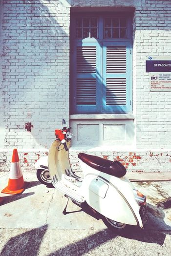 Life is a journey... Enjoy the ride Vespa Street Urban ExploreSingapore Visualsgang Justgoshoot Urbanandstreet Learn & Shoot: Simplicity Urbanexploration Learnminimalism Light And Shadow Shadow