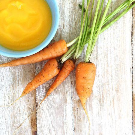 Carrots Babypuree Puree Babybrei Beikost Babyfood