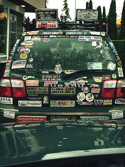 Funny Bumper Sticker Mania Cars