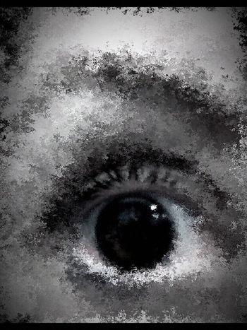 The Good Eye Series Blackandwhite Black And White Black & White Abstractions In BlackandWhite Eye