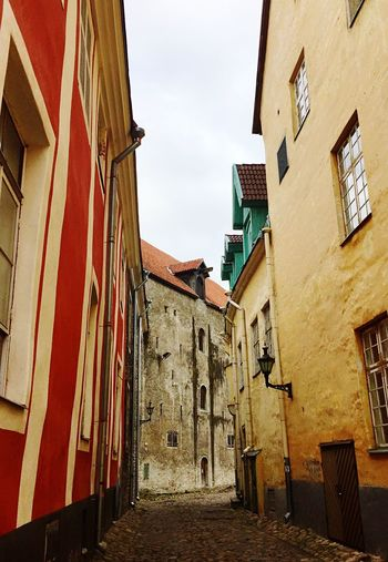 Tallinn, Estonia Tallinn Tallinn Old Town Tallinn Estonia Architecture Building Exterior Built Structure No People Day Outdoors Low Angle View Sky Travel Destinations Europe Trip