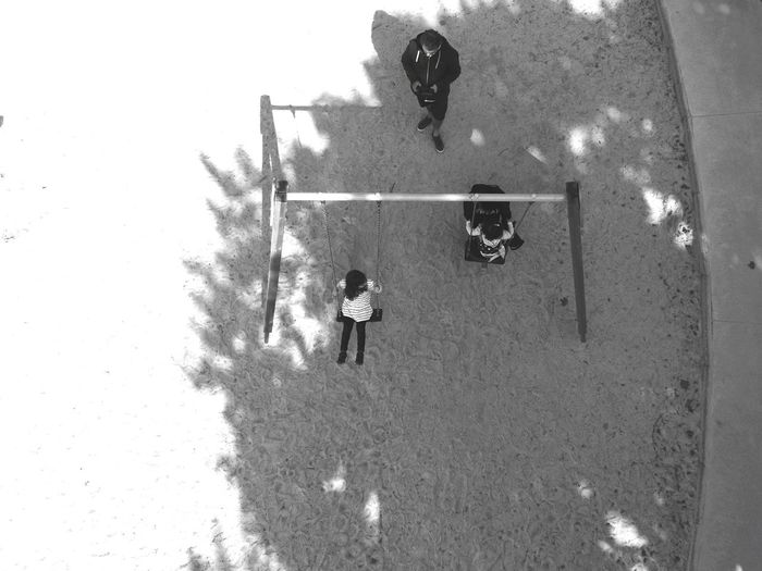 Playgrounds Kids Playing Kids In The Park Kids Kidsphotography EyeEm Best Shots EyeEm Gallery EyeEm Selects Drone  View From Above Playground Drone  Slide Swing Outdoor Play Equipment Slide - Play Equipment Ride Chain