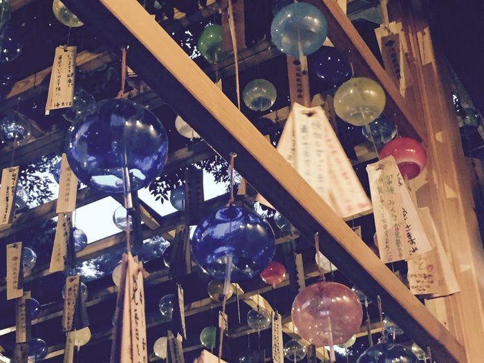 川越氷川神社 氷川神社 風鈴 夏の風物詩 Japan