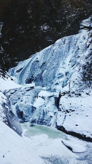 滝 大子町 茨城 袋田の滝 氷漠 癒し 寒い 圧巻 ひとり旅 Snow Cold Temperature Winter Ice Nature Beauty In Nature Frozen