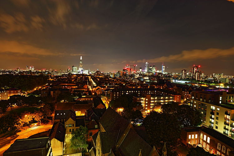 A West London View by Kadeen's Media Imagine Create Behold Canon Photographer Nightscape Londonatnight Canon Photography Canon 6D Landscapephotographer KadeensMedia LondonAfterDark 70-300mm Canon Lens London Nights Welcomeweekly Cities At Night