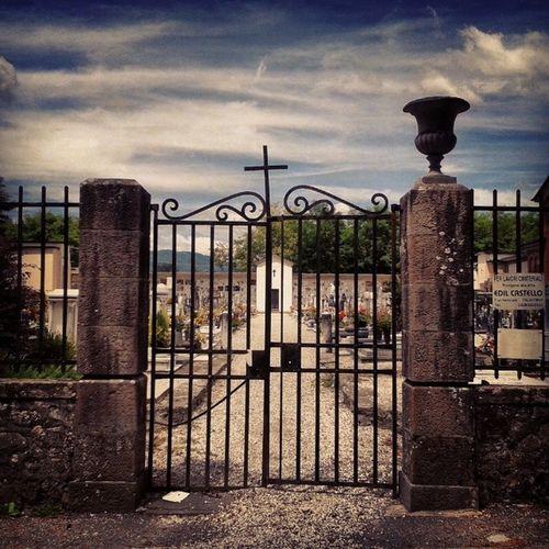 Ghivizzano's beautiful cemetery. Italy Tuscany Architecture Ghivizzano Cross Cemetery