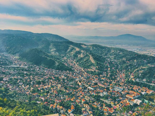 Mountain Sky Landscape Nature Outdoors Romania Europe Brasov Travel October