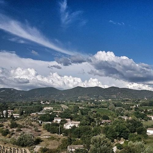 View from Puymeras Provence
