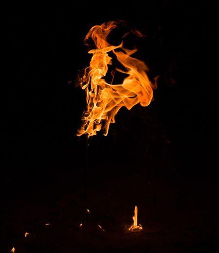 Taking Photos Enjoying Life Check This Out Fire EyeEm Gallery Dark Photography Burning Women In Flame Lebanon Black Background