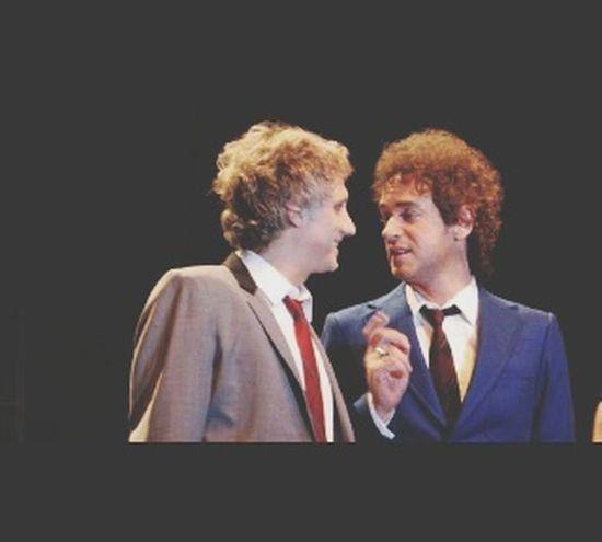 Gustavo y Charly, admiración eterna. AlbertiCharly Gustavocerati Rock SodaStereo America Argentina