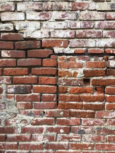 Brick Wall Brick Wall Full Frame Built Structure Architecture Wall - Building Feature