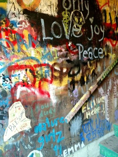 Blessings. Love joy and peace. Blessings Love Joy Peace Cellphone Photography Streetart Streetphotography The Human Condition Graffiti Street Art