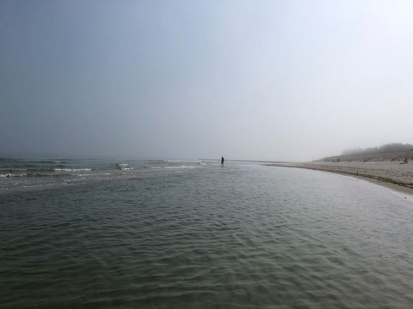 Baltic Sea IPhone X Photography IPhone X Prerow Fog Water Scenics - Nature Beauty In Nature Sky Sea Tranquility Tranquil Scene Land Nature Beach Horizon Over Water Horizon Day Non-urban Scene Sand Idyllic Clear Sky Outdoors Waterfront Incidental People