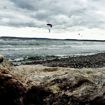 Adapted To The City Kitesurfing