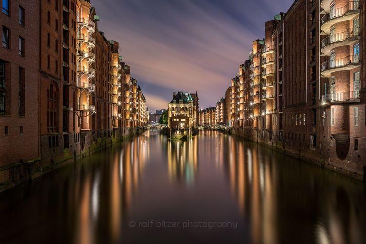 My Favorite Place Hamburg City Night Germany