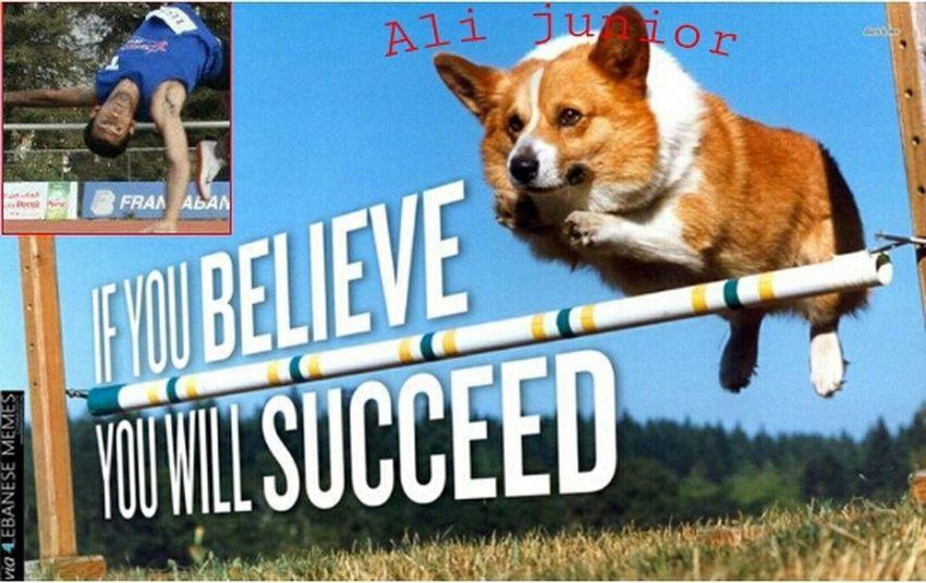 Ma tensa ya ali: if u believe u will succeed!! :D PhotoshopFunnypicsUsek