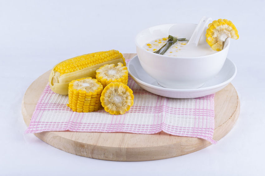 Corn porridge with milk is the best meal in evening Bowl Check This Out City Close-up Comfort Food Cor Corn Cream Diminishing Perspective Dish Towel Food Food And Drink Freshness Healthy Eating Indoors  People Picnic Porridge S Studio Shot Sweet Sweets Wallpaper White Background White Meat