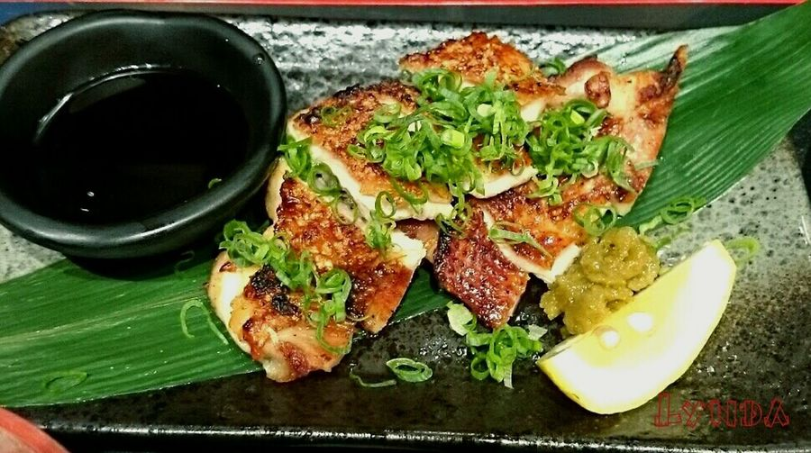 Lunch Time! Japanese Style ? Terriyaki Chicken ? Enjoy Eating YAMI~\^o^/ Food Photography Food Porn Enjoying A Meal ????