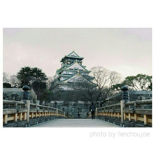 New photo - A trip to #Japan with #Nikon #Fm3a The beautiful Osaka castle. Tenchoujoe Fm3a Street Filmcamera Streetphotography JP Tokyo Shootfilm Kyoto Photography Film OSAKA Nikon Japan Photooftheday ASIA Nofilter Believeinfilm Artoftravel