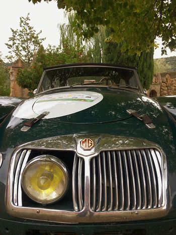 MG car MG Cars Classic Car Car Lights Vintage Cars Motor Vehicle Car Mode Of Transportation Land Vehicle Transportation Metal Retro Styled Glass - Material