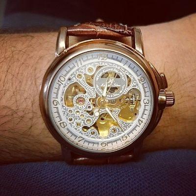 Hodinkee style! @pvelez10 now you need to take yours too Hodinkee Mechanicalwatch Watchgeek