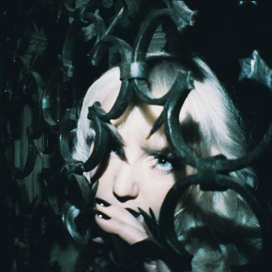 Organsinsleep Film Darkness Macabre Women Iron Morgue Laurenluck Colors Supernatural Goddess 35mm Creepy Grain Dark Beauty