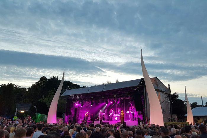 The Human League Concert Outdoor Music Evening Sky
