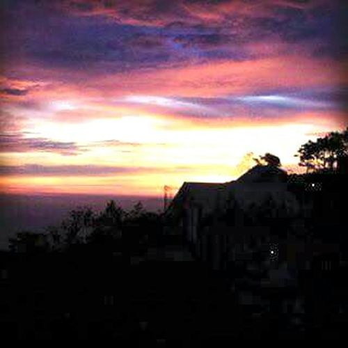 Every sunset at my terrace Sunset #sun #clouds #skylovers #sky #nature #beautifulinnature #naturalbeauty #photography #landscape Sunset Silhouettes Sunset_collection PhonePhotography Iphonephotography Beautifulskyseries Evening Sky Sunsetlover