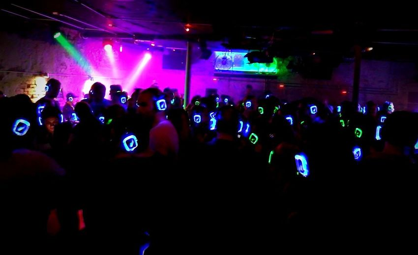 Crowd Music Arts Culture And Entertainment Large Group Of People Nightlife People Fun Silentdisco SilentDiscoParty