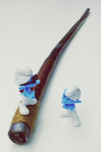 Voorzichtig met de toverstaf! Smurfs Magic Wand