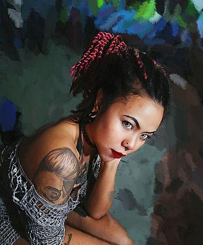 👽 Looking At Camera Women Tattoo Fashion Thailand Hello World Tattoos Dreadlocks Newhair That's Me Crazygirl Mypic First Eyeem Photo Thaigirl Lifestyles Girlwithtattoos  Asaingirls Dreadlocks Girl Sexythaigirl Gethigh 420life 420 Stayhighweedme 🍁 Hangout